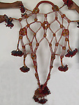 ANTIQUE CAMEL TRAPPING SET - 5 PIECES, GYPSY TRIBE, GUJARAT, INDIA