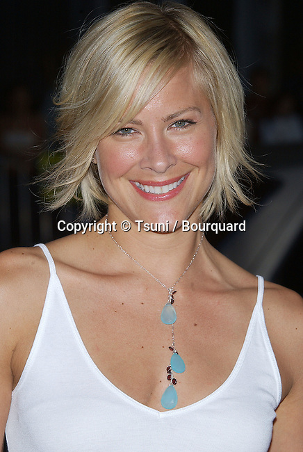 Brittany Daniel arriving at The Prince & Me Premiere at the Chinese Theatre in Los Angeles. March 28, 2004.