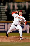 13 May 2005: Zach Day, pitcher for the Washington Nationals, on the mound in relief against the Chicago Cubs, as the visiting Cubs defeated the Nationals 6-3 to take the first game of the 3-game series at RFK Stadium in Washington, DC.  Mandatory Photo Credit: Ed Wolfstein