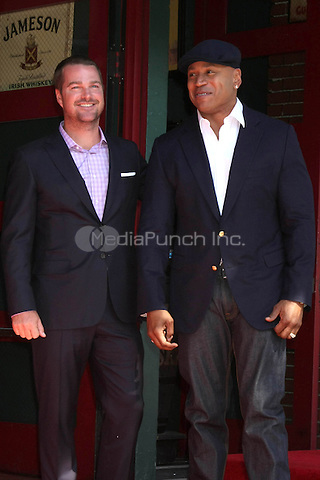 HOLLYWOOD, CA - MARCH 5: LL Cool J, Chris O'Donnell at the Chris O'Donnell Star on the Hollywood Walk of Fame Ceremony in Hollywood, California on March 5, 2015. Credit: David Edwards/DailyCeleb/MediaPunch