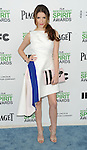 "Anna Kendrick at the ""2014 Film Independent Spirit Awards"" held at Santa Monica Beach, Ca. on March 1, 2014."
