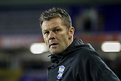 4th December 2017, St. Andrews Stadium, Birmingham, England; EFL Championship football, Birmingham City versus Wolverhampton Wanderers; Steve Cotterill Manager of Birmingham City watches the game as his team go behind