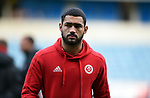 Cameron Carter Vickers of Sheffield United before the start of the championship match at The Den Stadium, Millwall. Picture date 2nd December 2017. Picture credit should read: Robin Parker/Sportimage