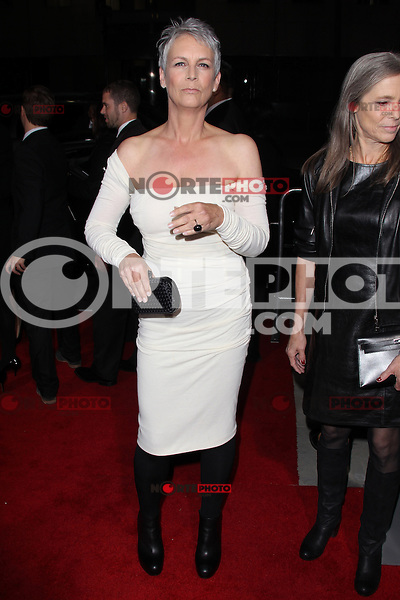 BEVERLY HILLS, CA - NOVEMBER 20: Jamie Lee Curtis at the premiere of Fox Searchlight Pictures' 'Hitchcock' at the Academy of Motion Picture Arts and Sciences Samuel Goldwyn Theater on November 20, 2012 in Beverly Hills, California. Credit: mpi27/MediaPunch Inc. /NortePhoto