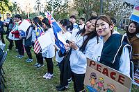 """Legislate Peace"" Campain, Sydney, Hyde Park 29.05.16"
