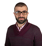 College of Computing and Digital Media PhD student Redar Ismail won a Google Cloud Platform Scholarship to build out a refugee hiring platform called BridgeLink. (DePaul University/Jeff Carrion)