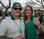 David and Marlina on St. Patrick's Day in Reno on Friday, March 17, 2017.