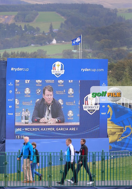 23 Sept 14 The Ryder Cup at The Gleneagles Hotel in Perthshire, Scotland. (photo credit : kenneth e. dennis/kendennisphoto.com)