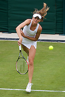 Daniela Hantuchova (SVK) against  Laura Robson (GBR) in the first round of the Ladies Singles. Hantuchova beat Robson 3-6 6-4 6-2 ..Tennis - Wimbledon - Day 1 - Monday 22nd June 2009 - All England Lawn Tennis Club  - Wimbledon - London - United Kingdom..Frey Images, Barry House, 20-22 Worple Road, London, SW19 4DH.Tel - +44 20 8947 0100.Cell - +44 7843 383 012