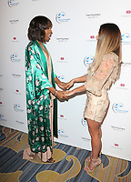 BEVERLY HILLS, CA - April 20: Kelly Rowland, Jessica Lowndes, At 2017 Women's Guild Cedars-Sinai Annual Spring Luncheon At The Beverly Wilshire Four Seasons Hotel In California on April 20, 2017. Credit: FS/MediaPunch