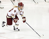 Kelli Stack (BC - 16) is announced as an Eagles starter. - The Boston College Eagles defeated the visiting Harvard University Crimson 6-2 on Sunday, December 5, 2010, at Conte Forum in Chestnut Hill, Massachusetts.