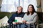 Kathleen O'Connor, Tralee and Jane Cullen, Inch who are affected by the HSE's withdrawal of Versatis Patches