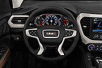 Car pictures of steering wheel view of a 2017 GMC Acadia Denali 5 Door SUV Steering Wheel