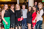 Atlanta Kennedy, Maria Maher, Anita Daly, Amy Lawlor, Sophie O'Sullivan and Emma Campbell at the John Mitchels GAA 'Strictly Come Dancing' at Ballygarry House Hotel on Sunday night.