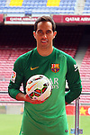 2014-07-07-FC Barcelona Unveil New Signing Claudio Bravo.