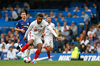 Lys Mousset of Sheffield United during the Premier League match between Chelsea and Sheff United at Stamford Bridge, London, England on 31 August 2019. Photo by Carlton Myrie / PRiME Media Images.