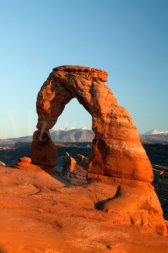 Delicate Arch, Arches National Park, near Moab, Utah