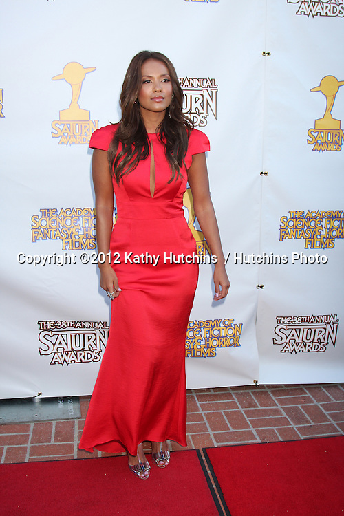 LOS ANGELES - JUL 26:  Lesley-Ann Brandt arrives at the 2012 Saturn Awards at Castaways on July 26, 2012 in Burbank, CA