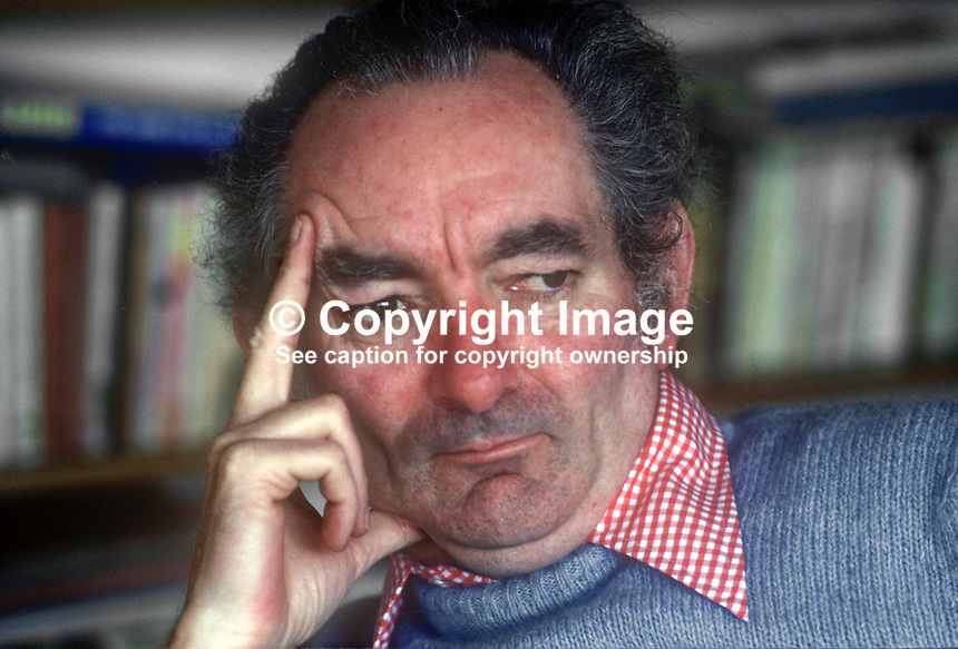 Brian Friel, playwright, born Omagh, Co Tyrone, N Ireland, 197803000095BF2.<br />