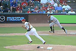 Yu Darvish (Rangers), Ichiro Suzuki (Yankees),<br /> JULY 22, 2013 - MLB :<br /> Yu Darvish of the Texas Rangers gets Ichiro Suzuki of the New York Yankees to ground out to second in the fourth inning during the Major League Baseball game at Rangers Ballpark in Arlington in Arlington, Texas, United States. (Photo by AFLO)