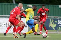 Ozzie Adeniki of Harlow Town during Harlow Town vs Leyton Orient, Friendly Match Football at The Harlow Arena on 6th July 2019