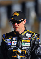 Apr 10, 2008; Avondale, AZ, USA; NASCAR Sprint Cup Series driver Matt Kenseth during qualifying for the Subway Fresh Fit 500 at Phoenix International Raceway. Mandatory Credit: Mark J. Rebilas-