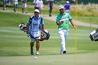 Hideki Matsuyama (JPN) approaches the green on 12 during round 2 of the WGC FedEx St. Jude Invitational, TPC Southwind, Memphis, Tennessee, USA. 7/26/2019.<br /> Picture Ken Murray / Golffile.ie<br /> <br /> All photo usage must carry mandatory copyright credit (© Golffile | Ken Murray)