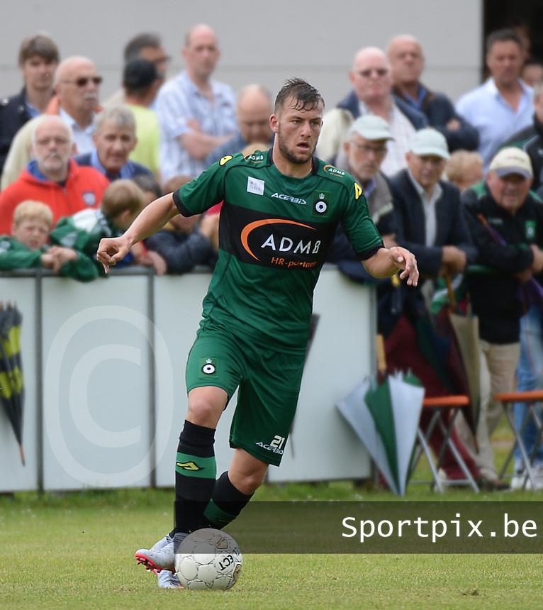 Cercle Brugge : Ayron Verkindere <br /> foto VDB / BART VANDENBROUCKE
