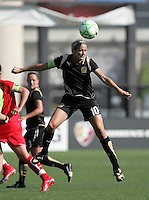 Leslie Osborne. Washington Freedom defeated FC Gold Pride 4-3 at Buck Shaw Stadium in Santa Clara, California on April 26, 2009.