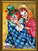 Alfredo, CHILDREN, KINDER, NIÑOS, paintings+++++,BRTOXX05718CP,#k#, EVERYDAY ,clowns