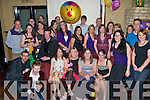 BALLOON BIRTHDAY: Kara Gibbions, Rockwell Close (seated 3rd left) celebrating her 30th birthday with family and friends at the Abbeygate Hotel on Saturday.   Copyright Kerry's Eye 2008