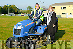 Timmy O'Connor (NEKD) who gets instruction from Supperviser Pam Dillane (NEKD) at The GAA Grounds Cordal.