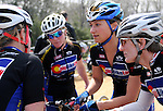April 11, 2010:  Colorado Bike-Law riders prior to the Women's Pro 1/2 event at the Boulder-Roubaix cycling race, Boulder, Colorado.