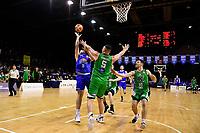 Saints' Jordan Ngatai in action during the NBL - Cigna Saints v Manawatu Jets at TSB Bank Arena, Wellington, New Zealand on Sunday 16 June 2019. <br /> Photo by Masanori Udagawa. <br /> www.photowellington.photoshelter.com