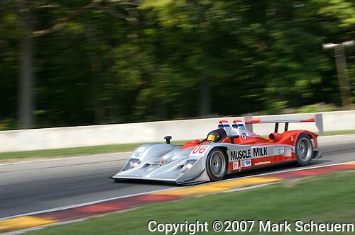 10 August 2007: The Team Cytosport Lola B06/10-AER driven by Greg Pickett (USA) and Klaus Graf (DEU) at the Generac 500 at Road America, Elkhart Lake, WI