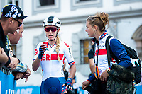 Picture by Alex Whitehead/SWpix.com - 29/09/2018 - Cycling - UCI 2018 Road World Championships - Innsbruck-Tirol, Austria - Elite Women's Road Race - Hannah Barnes of Great Britain.
