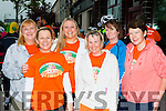 Eileen Greany, Norma Moran, Noreen Kerins, at the start of  the Longest day challenge in Castleisland on Saturday morning