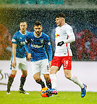 Oliver Burke with Jon Toral in a snowstorm
