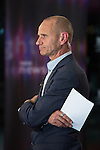 © Joel Goodman - 07973 332324 . 26/09/2016 . Liverpool , UK . EVAN DAVIS presenting Newsnight during the Labour Party Conference at the ACC Conference Centre . Photo credit : Joel Goodman
