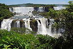 Cataratas do Iguaçu no Parque Nacional do Iguaçu. Foz do Iguaçu. Parana. 2013. Foto de Roseli Stepurski.