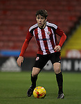 Sheffield United's George Cantrill during the FA Youth Cup First Round match at Bramall Lane Stadium, Sheffield. Picture date: November 1st 2016. Pic Richard Sellers/Sportimage