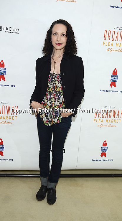 Bebe Neuwirth attends the 27th Annual Broadway Flea Market and Grand Auction benefitting Broadway Cares/ Equity Fights Aids on September 22, 2013 at Shubert Alley in New York City.
