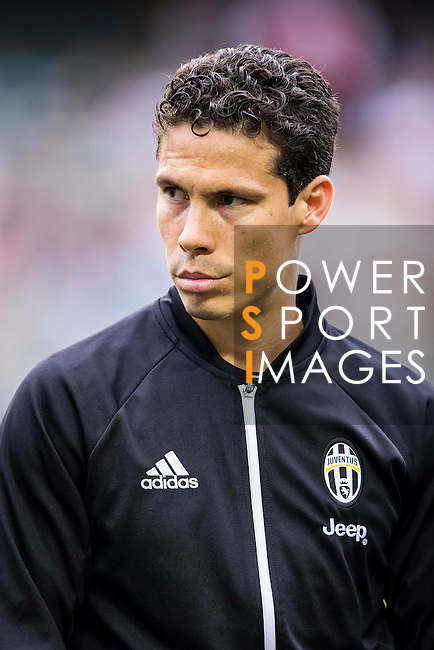 Juventus' player Anderson Hernanes de Carvalho Viana Lima poses for a picture during the South China vs Juventus match of the AET International Challenge Cup on 30 July 2016 at Hong Kong Stadium, in Hong Kong, China.  Photo by Marcio Machado / Power Sport Images
