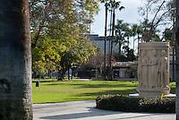 The Modjeska Statue In Pearson Park, Anaheim