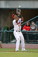 Great Lakes Loons first baseman Jaime Ortiz (36) during a game vs. the Dayton Dragons at Dow Diamond in Midland, Michigan August 19, 2010.   Great Lakes defeated Dayton 1-0.  Photo By Mike Janes/Four Seam Images