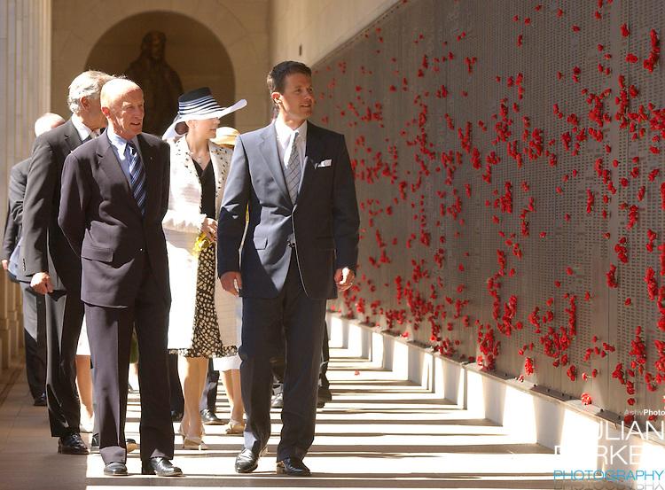 Crown Prince Frederik & Crown Princess Mary of Denmark visit the Australian War Memorial in Canberra, during their 2-week visit to Australia..