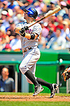 7 June 2009: New York Mets' third baseman David Wright in action during a game against the Washington Nationals at Nationals Park in Washington, DC. The Mets shut out the Nationals 7-0 to take the third game of the weekend series. Mandatory Credit: Ed Wolfstein Photo