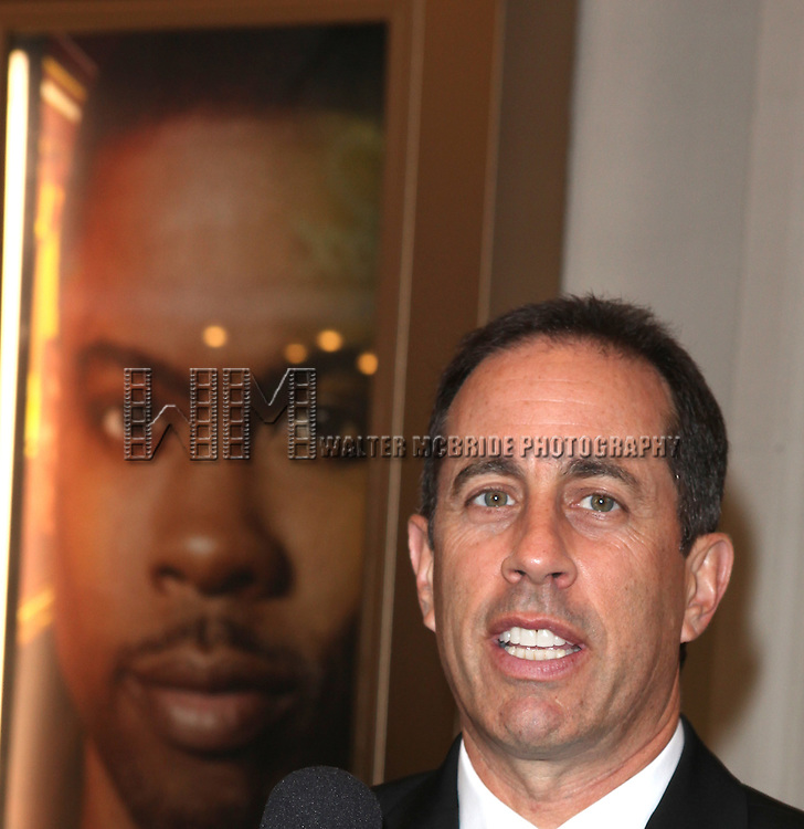Jerry Seinfeld.attending the Broadway Opening Night Performance  for 'The Mother F**ker with the Hat'  in New York City.