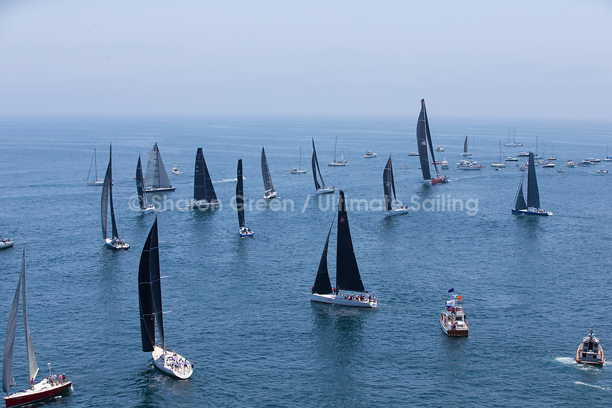 2017 TRANSPAC<br /> START 7617 &copy; Sharon Green / Ultimate Sailing