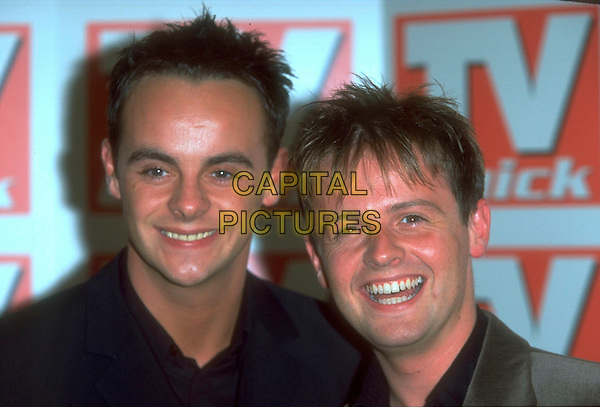 ANT & DEC.TV Quick Awards.Ref: JM9971.headshot portrait Anthony McPartlin & Declan Donnelly.www.capitalpictures.com.sales@capitalpictures.com.©James McCauley/Capital Picturesc